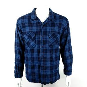 Pendleton Mens Button Up Flannel Shirt Size XL